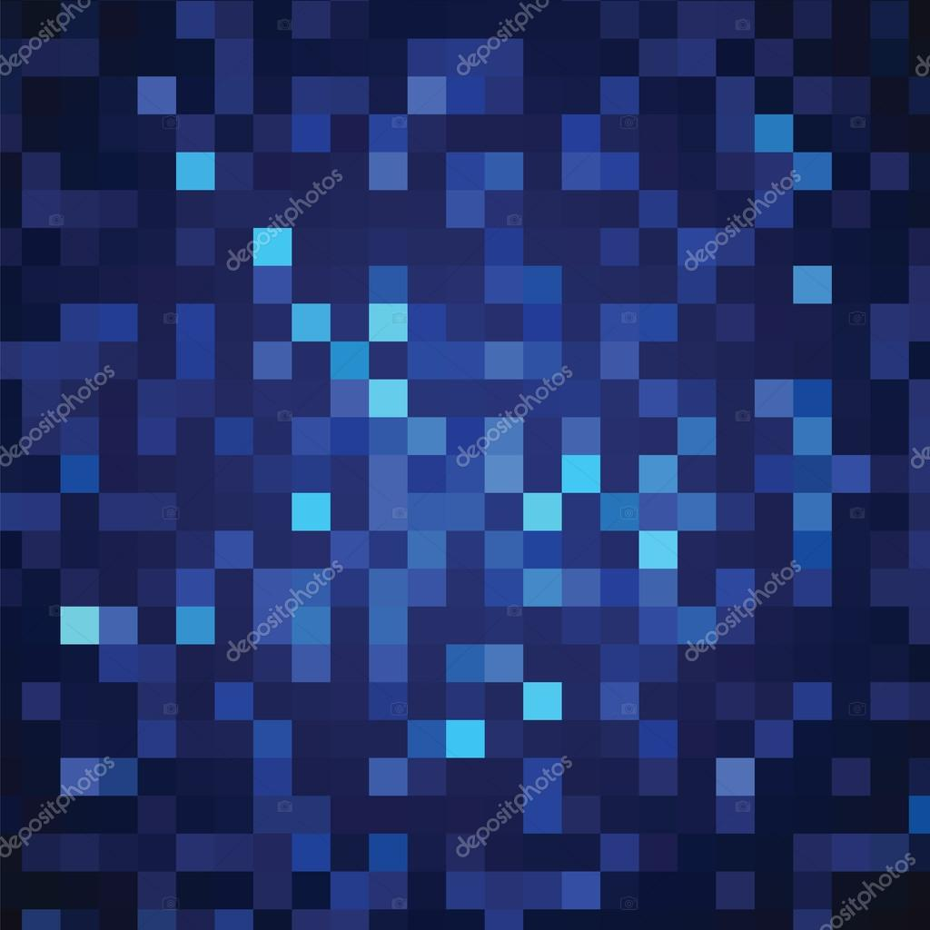 Abstract background of blue rectangles