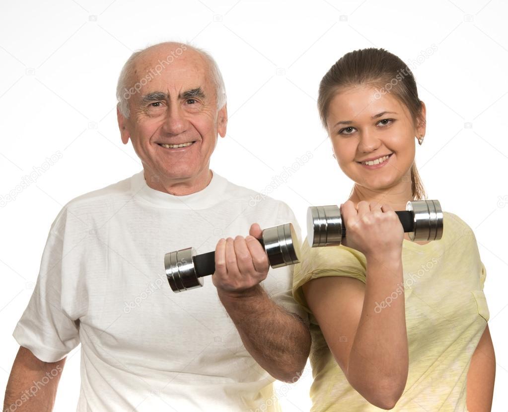 ältere mann junge frau