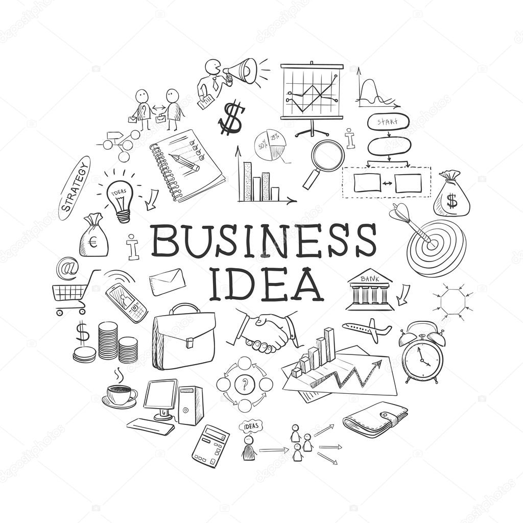 hand draw doodle web charts business elements stock vector CLSI Order of Draw 2012 hand draw doodle web charts business elements stock vector