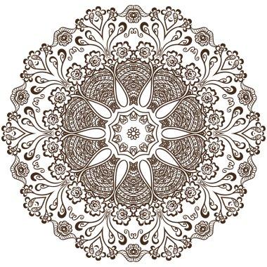 circular pattern of indian