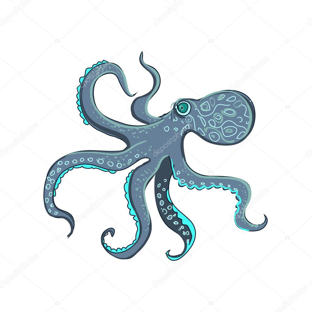 doodle octopus