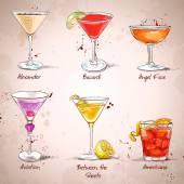 Fotografie das unvergessliche Cocktailset