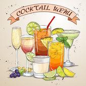 Neue Ära trinkt Coctail-Menü