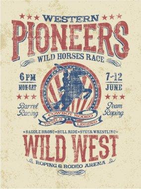 Western pioneers rodeo