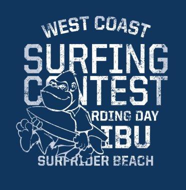 West Coast surfing contest