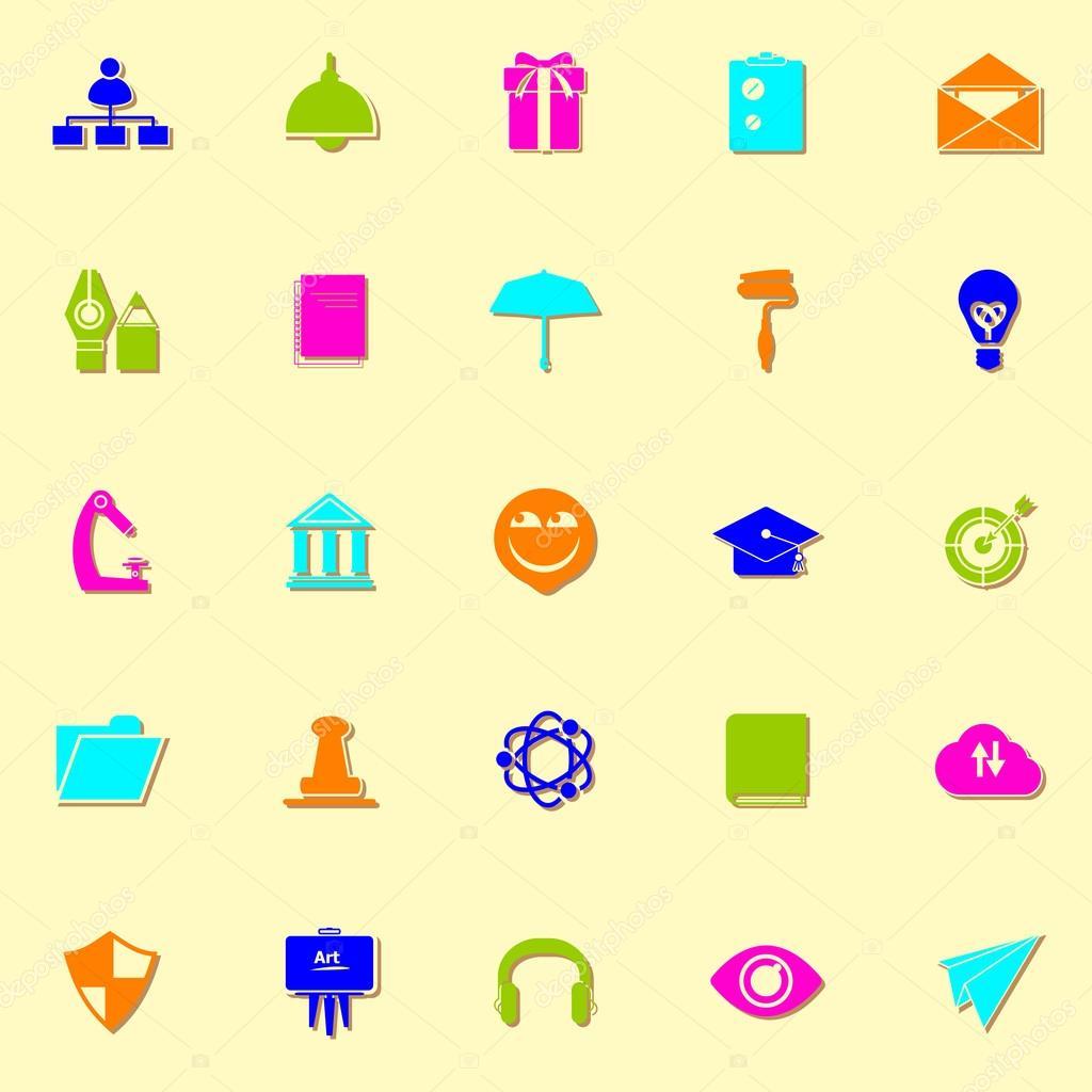 önéletrajz ikonok Állás önéletrajz neon ikonok val árnyék — Stock Vektor © nalinrat  önéletrajz ikonok