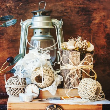 Vintage Things with Memories in Still Life