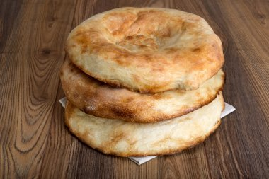 wheat bread in the form of tortillas from Asia