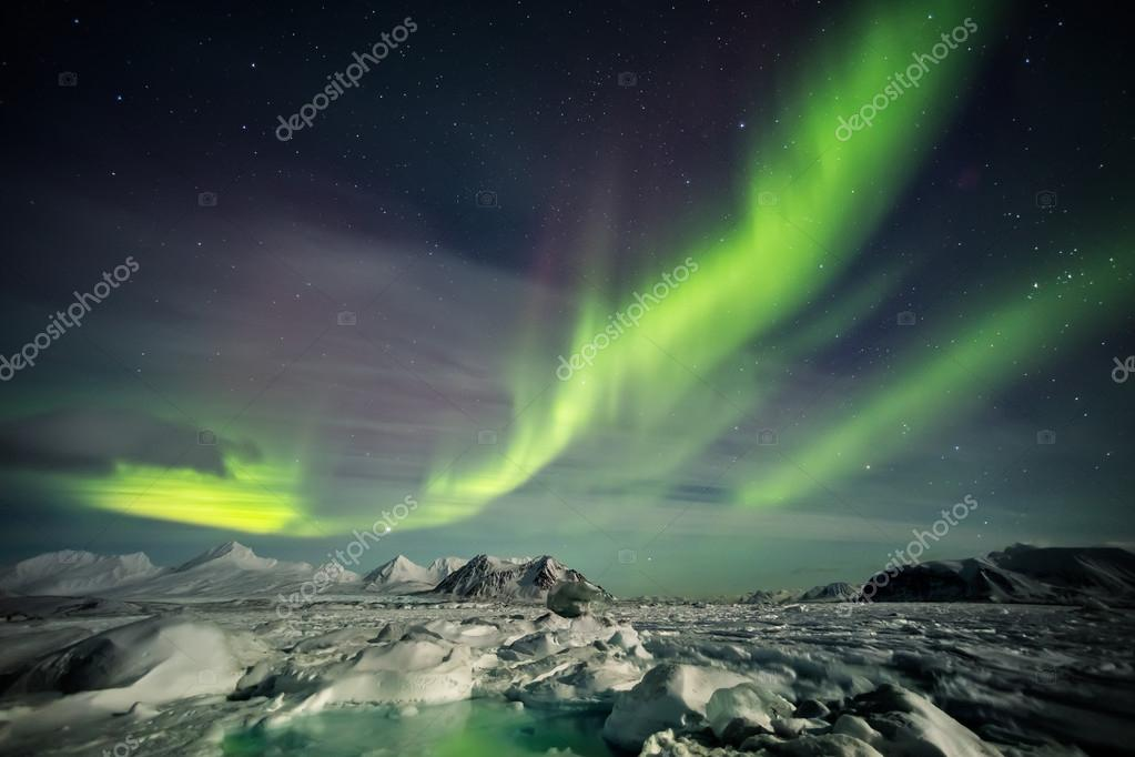 The Arctic Archipelago of Svalbard - winter time