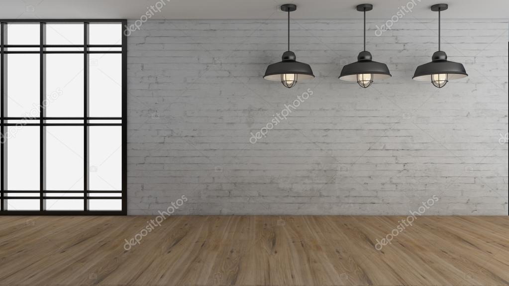 Immagine di rendering d industriale illuminazione interni