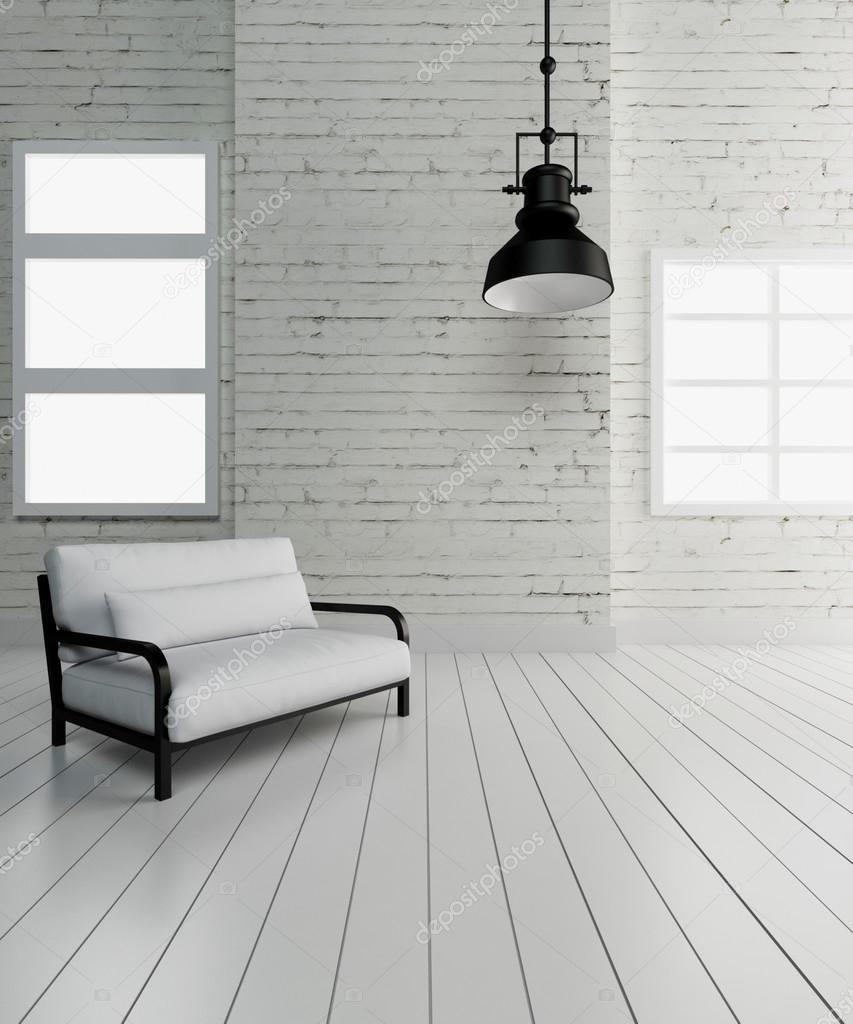 Imagem De Renderiza O 3d Industrial Ilumina O Interior Stock