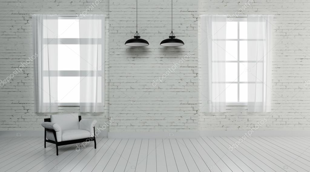 工業用インテリア照明 3 d レンダリング画像 ストック写真