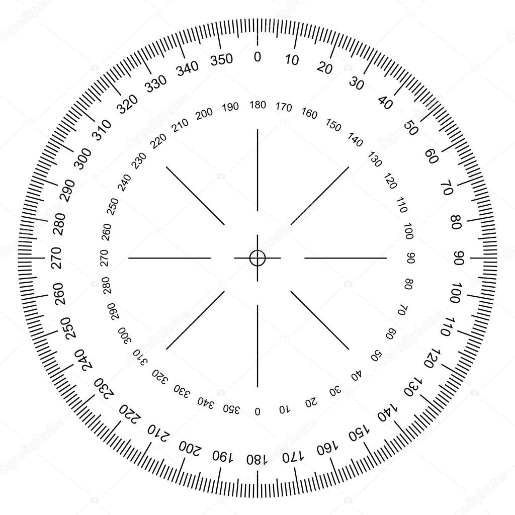 how to make 72 degree angle with compass