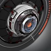 Konceptuální elektronické cyber oko
