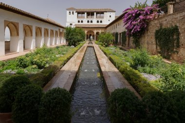 The Generalife Leisure villa of the sultans , Granada, Spain