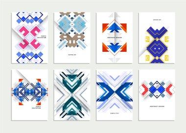 Geometric background, Templates