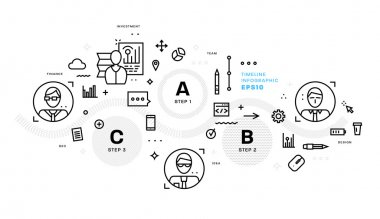 business  vector icons and element