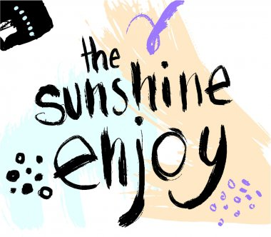 Summer Typography Lettering