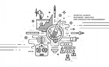 set of business   icons and elements.
