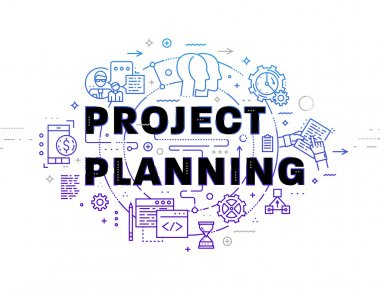 project planning  concept