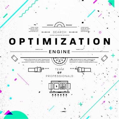 optimization engine  Concept.