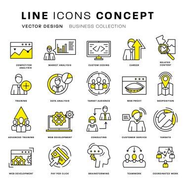 Icons Set,  Business Elements