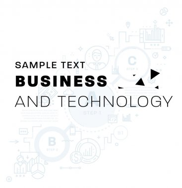 business icons and elements.