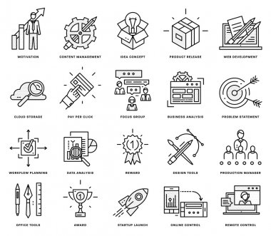Icons Set,  Business Elements