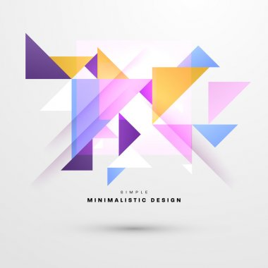 Abstract Background, minimalistic design
