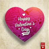 glücklicher Valentinstag.