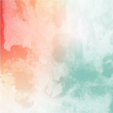 Soft colored abstract background for design. Colorful watercolor texture effect. Vector. stock vector