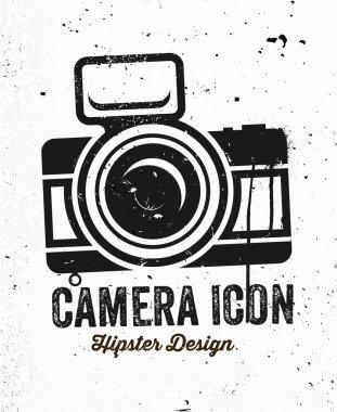 Hand Drawn Vintage Photo Camera