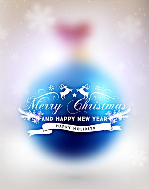 Blurred Christmas Ball