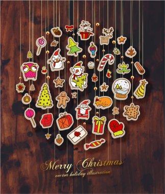 Christmas Set of Icons
