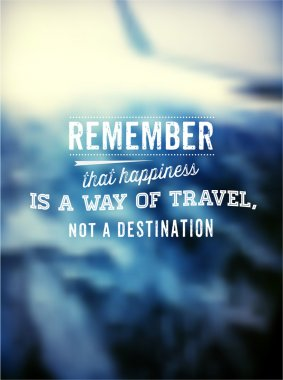 Quote Typographical Poster