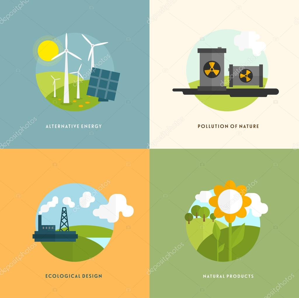 Environment, Green Energy and Nature Pollution