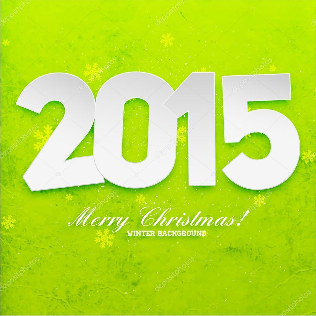 New Year 2015 Greeting Card Design Stock Vector Ozerina 70424187