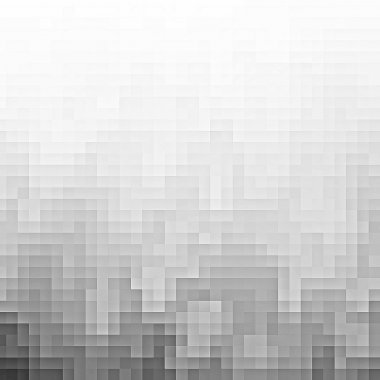 Abstract gray pixel background