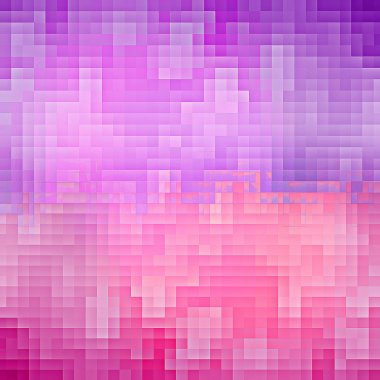 Purple and pink pixel background