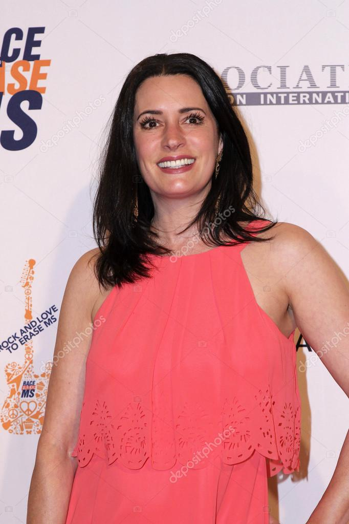 Paget Brewster Actress Stock Photo