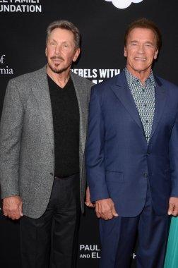 Larry Ellison, Arnold Schwarzenegger