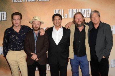 Chris Pine, Ben Foster, Gil Birmingham, David Mackenzie, Jeff Bridges