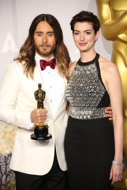 Jared Leto, Anne Hathaway