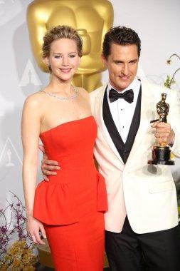 Jennifer Lawrence, Matthew McConaughey
