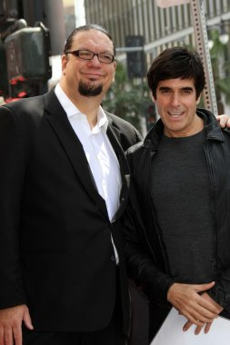 Penn Jillette, David Copperfield