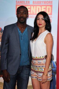 David Ajala and Michelle Lukes
