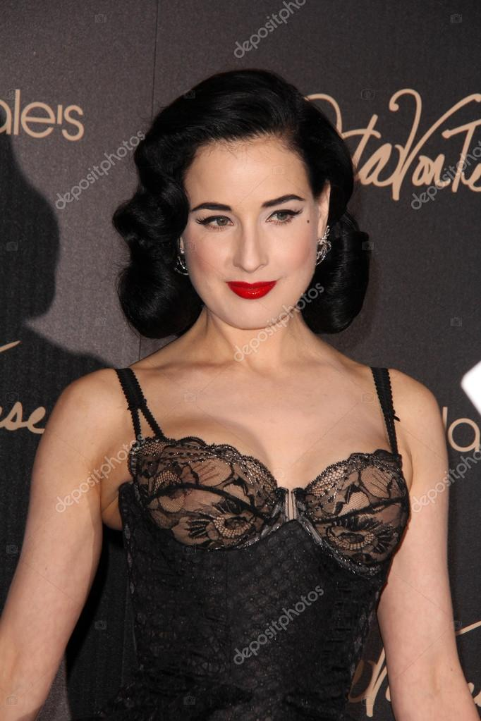 562185d52e8 Dita Von Teese at the Dita Von Teese Launches Her Lingerie Collection at  Bloomingdales on May 17