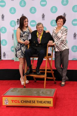 Danielle Sarah Lewis, Jerry Lewis and SanDee Pitnic