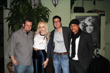 Brent Baisley, Lexi Belle, Gregory Hatanaka and Clinton H.Wallace
