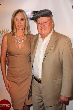 Eileen Davidson and Dick Van Patten